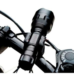 Wolfbike forlygte m. oplader (600 lumen)